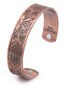 Health Care Magnetic Cuff Bracelet for Pain Relief, Therapy, Balance and Energy for Men and Women