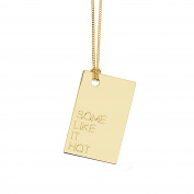 La Môme Bijou Vermeil Some Like It Hot Charm Necklace of 48-48cm