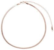 Happiness Boutique Women Choker in Rose Gold | Delicate Chain Necklace Minimalist Design