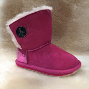 EE Emu Australia Girls Hot Pink 'Denman Kids' Boots