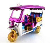 Thai Tuk Tuk Thailand Model Taxi Tricycle Wind Up Wheels Car Toy Vehicle Collectible