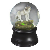 Wolf Water Globe Collectible from The San Francisco Music Box Company