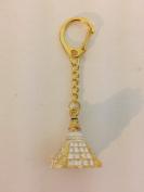 Feng Shui Boudhanath Stupa Amulet Keychain USA Seller
