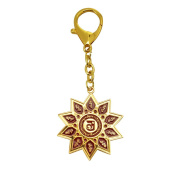 10 Hums with Magic Syllable Keychain Amulet Feng Shui W Fengshuisale Red String Bracelet W3194