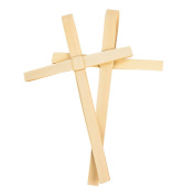 Palm Sunday Outreach Palm Crosses - 15cm x 11cm Dried African Palm Crosses