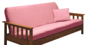 Madison Stretch Jersey Futon Slipcover, Pink