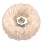 EFCO Cotton Unmounted Polishing Wheel, White/Beige, 22 mm Diameter