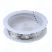 0.3MM Copper Craft Wire Beading Jewellery Making Silver 25M