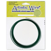 Artistic Wire 16-Gauge Green Coil Wire, 3m
