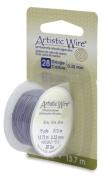 Artistic Wire 28-Gauge Grey Wire, 15-Yards