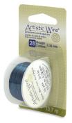 Artistic Wire 28-Gauge Aqua Wire, 15-Yards