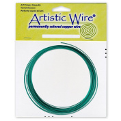 Artistic Wire 16-Gauge Kelly Green Coil Wire, 7.6m
