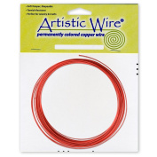 Artistic Wire 16-Gauge Red Coil Wire, 7.6m