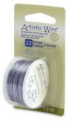Artistic Wire 22-Gauge Grey Wire, 8-Yards