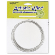 Artistic Wire 16-Gauge Tinned Copper Coil Wire, 7.6m