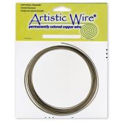 Artistic Wire 16-Gauge Wire, Antique Brass, 7.6m
