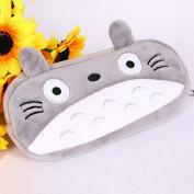 RUWALY Cute Totoro Cat - Super Soft Plush Pen / Pencil / Accessory / Coin Case / Purse