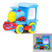IDS Lightning Electric Music Train Toy with Snowflakes for Toddlers, Kids, Babies - Christmas Gifts, Birthday Presents