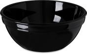 Carlisle PCD31903 Long-Life Polycarbonate Nappie Bowls, 440ml, Black