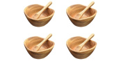 "Dipping & Nuts Bowls 4"" x 4"" x 2"", Set of Four"