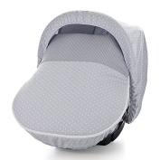 Piccolandy Good Night Sleeping Bag – For Maxi Cosí with Sunroof, Grey
