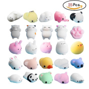 Mochi Squishy, Hotsellhome 2018 New Lovely Mochi Squishies Cat Squeeze Healing Fun Kawaii Toy Stress Reliever Adult Kids Gift