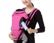 Feicuan Baby Infant Carrier Multifunctional Adjustable Wrap Bag Front and Back Sling