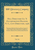 Hill Directory Co. 's (Incorporated) Raleigh, N. C., City Directory, 1926, Vol. 16