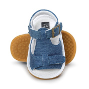 Janly® First Walkers Infant Boys Canvas Sandals Summer For 0-18 Months Baby Crib Shoes