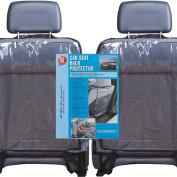 2x Clear Car Seat Back Protectors