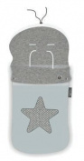 pirulos 45531730 – Sack Trolley, Star, Cotton, 48 x 82 cm, Grey