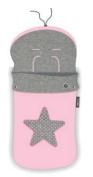 pirulos 45531704 – Sack Trolley, Star, Cotton, 48 x 82 cm, Pink