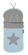 pirulos 45531703 – Sack Trolley, Star, Cotton, 48 x 82 cm, Blue