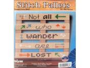 Janlynn Cross Stitch Kit Stitch Pallet Not Lost