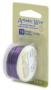 Artistic Wire 18-Gauge Purple Wire, 4-Yards