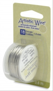 Artistic Wire 18-Gauge Tinned Copper Wire, 4-Yards