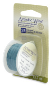 Artistic Wire 28-Gauge Turquoise Wire, 15-Yards