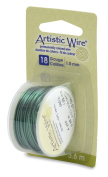 Artistic Wire 18-Gauge Green Wire, 4-Yards