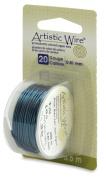 Artistic Wire 20-Gauge Aqua Wire, 6-Yards