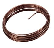 Aluminium Wire 5 m Flexible, Chocolate