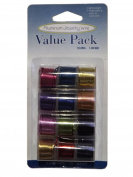 Pack of 12 - 1.00mm x 2.74m Mixed Colour Craft Wire - 18 Gauge