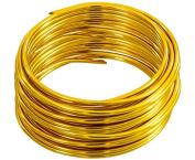 Aluminium Handicraft Wire Gold