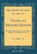 Notes on Modern Jainism