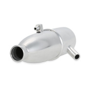 MagiDeal HSP 102009 Upgrade Parts For 1/10 RC Car 02124 Exhaust Pipe 02026 Silver