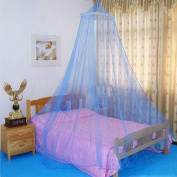 Ulable Elegant Round Lace Insect Bed Canopy Netting Curtain Dome Mosquito Net