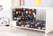 Ready Steady Bed® Galaxy Design Nursery Cot Bumper Bedding Set