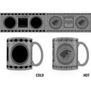 Game of Thrones - Stark - Thermal Image Changing Ceramic Coffee Mug