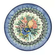Polish Pottery Summer Blooms Saucer