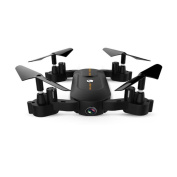 Boyiya Mini Foldable Rc Drone, S166 2.4GHz 4Axis . mp WiFi RC Remote Control Headless Quadcopter Camera Drone