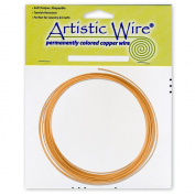 Natural -Wire Copper Colr Bag